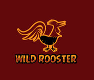 Wild rooster art Royalty Free Stock Photography