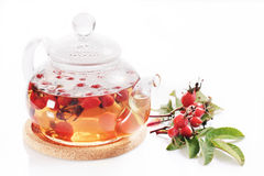 Wild rose tea Royalty Free Stock Photography