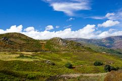 Wild rural Corsican landscape Royalty Free Stock Photo
