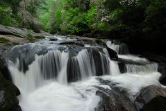 Wild & Scenic Chattooga River Cascades Royalty Free Stock Photography