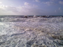 Wild sea Stock Photo
