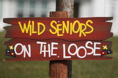 Free Wild Seniors On The Loose Stock Image - 3508861