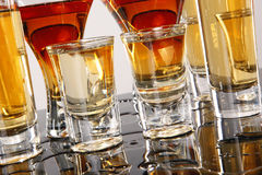 Wild shooters Stock Images