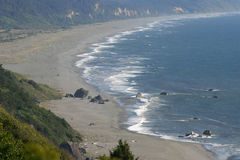 Wild Shoreline of the Pacific Northwest Royalty Free Stock Photo