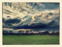 wild sky fotografering för bildbyråer