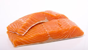 Free Wild Sockeye Salmon Portions Royalty Free Stock Photos - 17187508