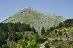 Wild stenig terrain Fotografering för Bildbyråer