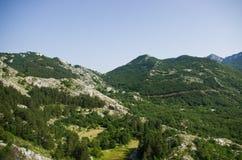 Wild stenig terrain arkivfoto