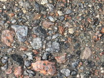 Wild stones pathway Royalty Free Stock Photos