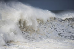 Wild stormy ocean surf Stock Images