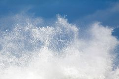 Wild Surf Royalty Free Stock Photography