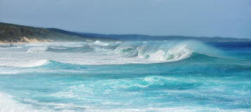 Wild Surf and Coast Stock Images