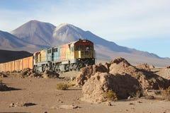 Wild train Stock Photo