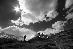 Wild trekking Royalty Free Stock Image