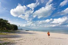 Wild tropical beach Stock Photo