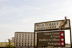 Wild Turkey Distillery sign Stock Images