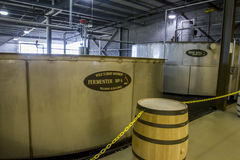 Wild Turkey fermentation vats Stock Image