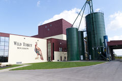 Wild Turkiet Bourbon spritfabrik Arkivbilder