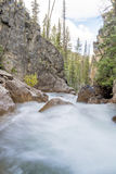 Wild untamed river in the wilderness of Idaho Stock Image