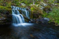 wild vattenfall Royaltyfri Bild