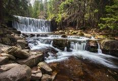 wild vattenfall Arkivbilder