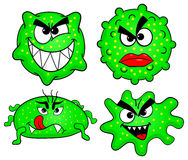 Wild viruses Royalty Free Stock Photos