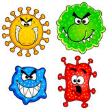 Wild viruses Stock Photography