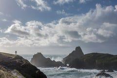 Wild Walking, Kynance Cove, Cornwall royalty free stock photos