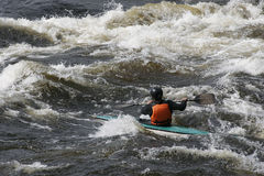Wild water 10 Royalty-vrije Stock Fotografie