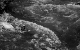 Wild water Royalty-vrije Stock Afbeeldingen