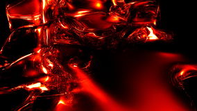 Wild water red stock footage