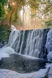 Magical waterfall waters Royalty Free Stock Photos