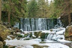 Wild waterfall Royalty Free Stock Image