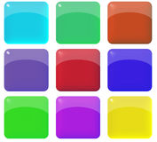 Wild Web Buttons Royalty Free Stock Image