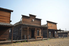 Wild West architecture Royalty Free Stock Image