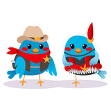 Wild West Birds Stock Photo
