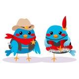 Wild West Birds Stock Photo