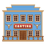Wild West cantina Royalty Free Stock Image