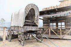Wild West cart Stock Image