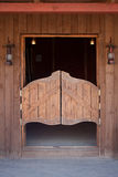 Wild west concept. Ranch style, wild west concept. Wooden ranch house Royalty Free Stock Image