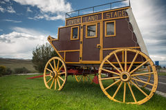 Wild West covered wagon Stock Images