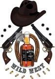 Wild West design Royalty Free Stock Image