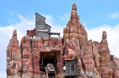Wild West Falls Adventure Ride in Movie World Gold Coast Austral Stock Photo