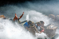Wild West Falls Adventure Ride in Movie World Gold Coast Austral royalty free stock image