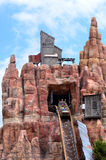 Wild West Falls Adventure Ride in Movie World Gold Coast Austral royalty free stock photos