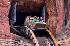 Wild West Falls Adventure Ride in Movie World Gold Coast Austral Stock Photos