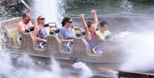Wild West Falls Adventure Ride in Movie World Gold Coast Austral stock image