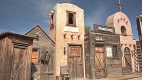 Wild West frontier style facade in Tombstone, Arizona
