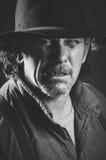 Wild West Gunslinger Royalty Free Stock Photos