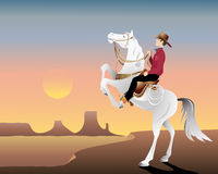 Wild west hero Royalty Free Stock Photography